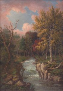 Trout Brook, Moat Mountain by John White Allen Scott