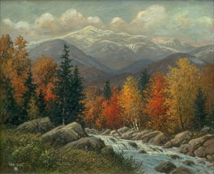 Mount Washington by Peter van Saul
