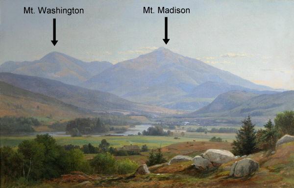 Mount Washington and Mount Madison