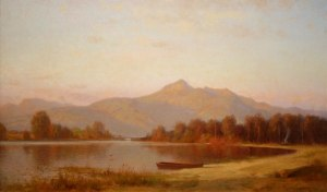 Mount Chocorua and Chocorua Lake by Alfred Wordsworth Thompson