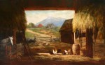 Mount Chocorua from Old Barn in Eaton by Frank Henry Shapleigh