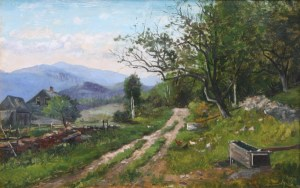 On Thorn Hill Road, Jackson by Frank Henry Shapleigh