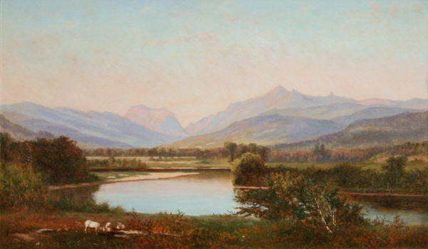 Franconia Mountains from Campton by Frank Henry Shapleigh