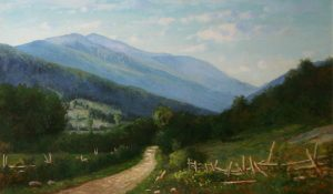 Mount Washington from the Glen Road, Jackson by Frank Henry Shapleigh