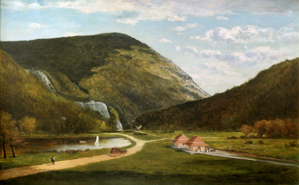 Crawford Notch by Frank Henry Shapleigh