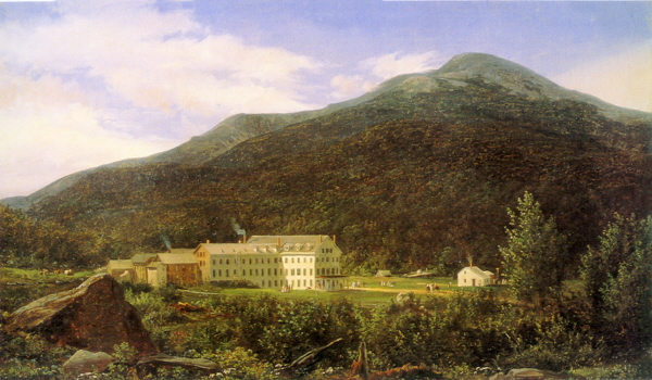 Mount Washington from the Back of the Glen House Looking across Pinkham Notch by Ferdinand Richardt