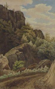 The Imp, Pinkham Notch by Fanny Robertson Thurston