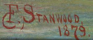 F. Stanwood. / 1879.