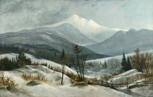 Mount Lafayette from Bethlehem by Franklin Stanwood