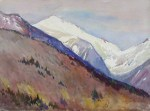 Mount Adams and Jefferson's Knee from Pinkham Notch by Henry Webster Rice