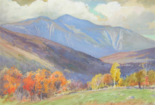 Mount Washington from Jackson by Henry Webster Rice