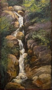 Silver Cascade, Crawford Notch by Jean Paul Selinger