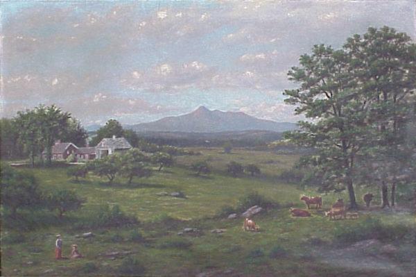 Mount Chocorua by an Unknown White Mountain Artist