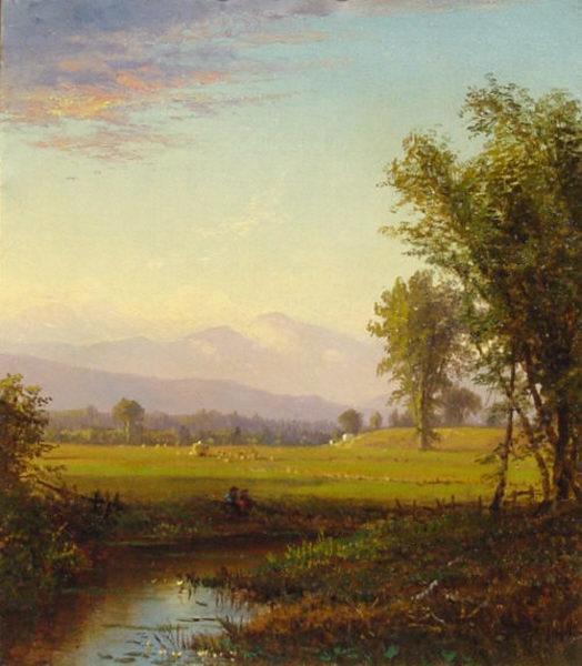 Mount Washington by an Unknown White Mountain Artist