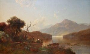 On Lake Winnipesaukee by William Sheridan Young