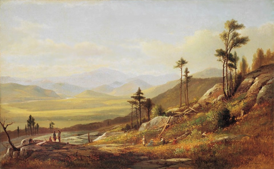 Mount Washington from Rattlesnake Ledge, North Conway by Benjamin Champney