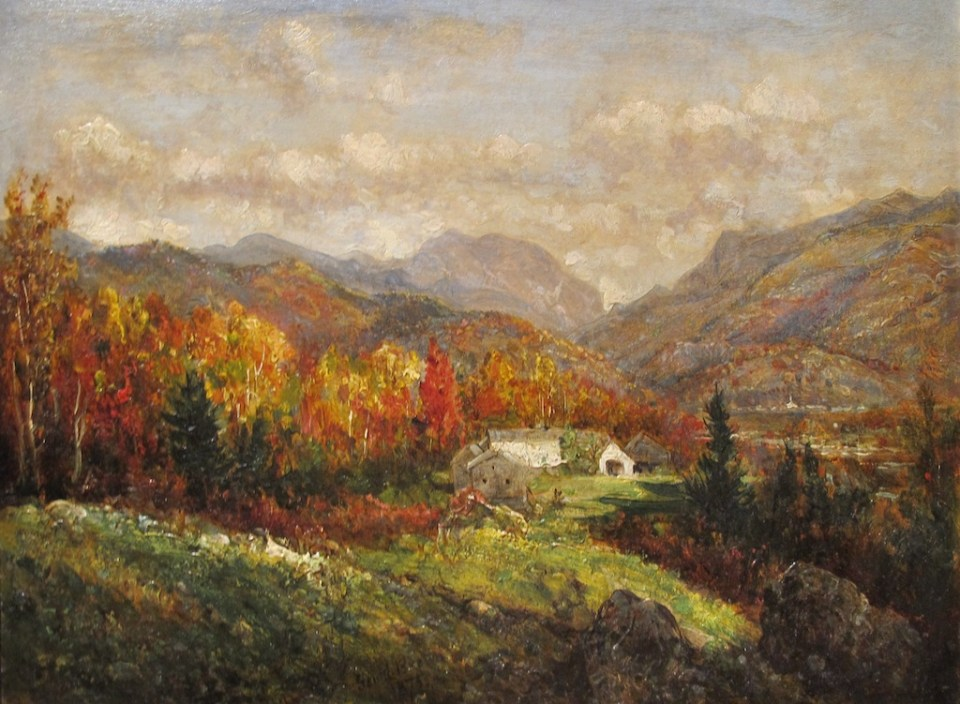 Canon Mountain and Franconia North from Thrornton by George Loring Brown