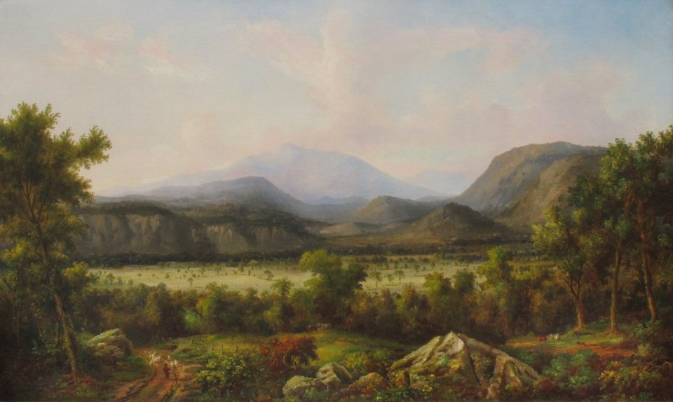 Mount Washington from North Conway by John White Allen Scott