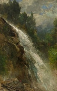 Mill Brook Cascade at Thornton by Samuel Lancaster Gerry