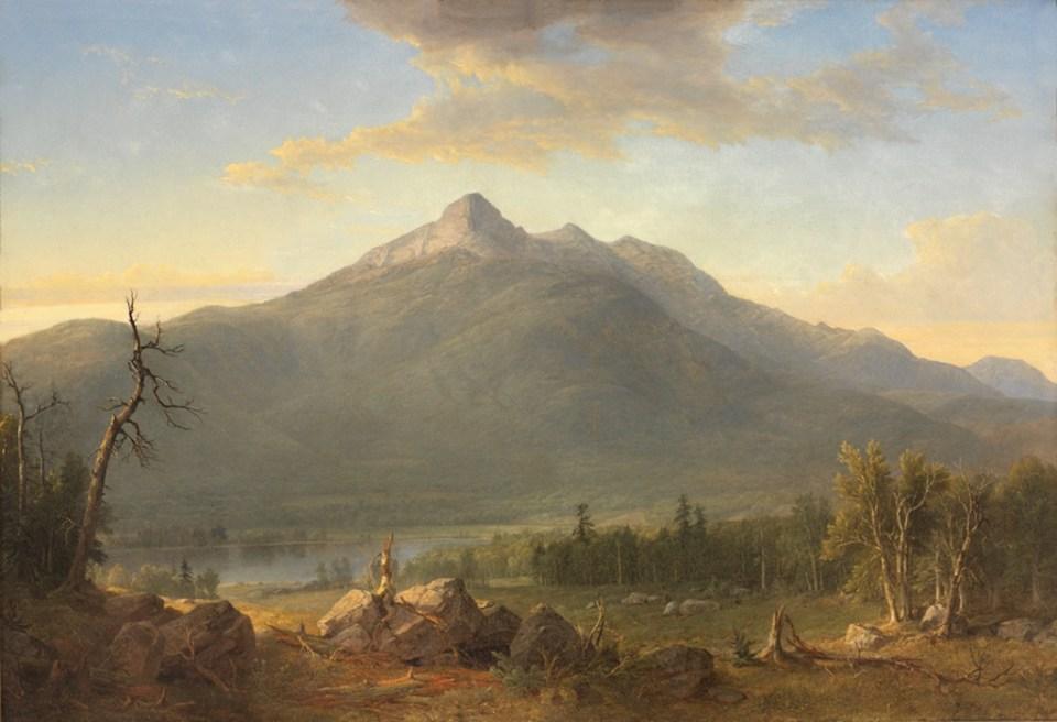 Chocorua Peak and Chocorua Lake from Tamworth by Asher B. Durand