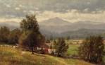 (Moat Mountain) Near Jackson, White Mountains by Clinton Ogilvie