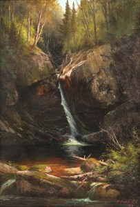 Kinsman Falls, Franconia Notch by Edward Hill