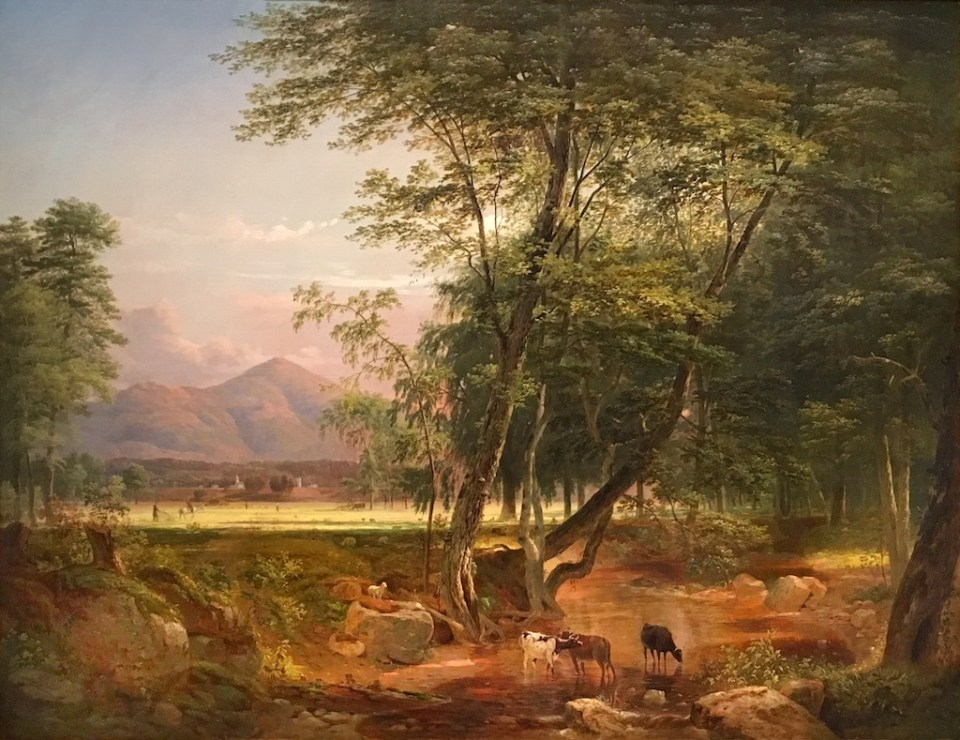 Mount Kearsarge from the North Conway Intervale by Samuel Lancaster Gerry