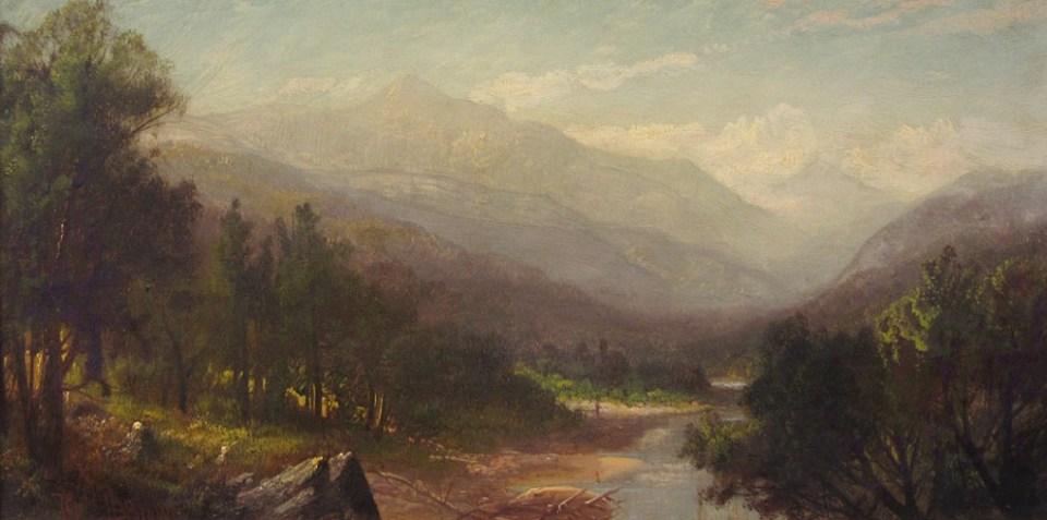 Mount Washington from the Ellis River by Harrison Bird Brown