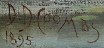 D D Coombs / 1895