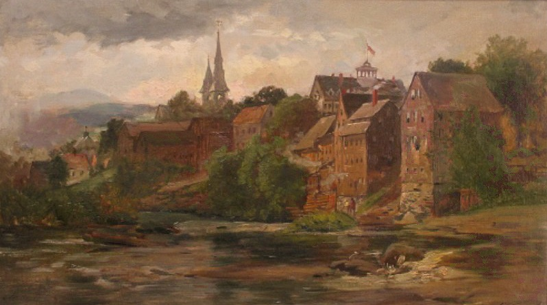 Ammonosuc River, Littleton, NH by Samuel Lancaster Gerry