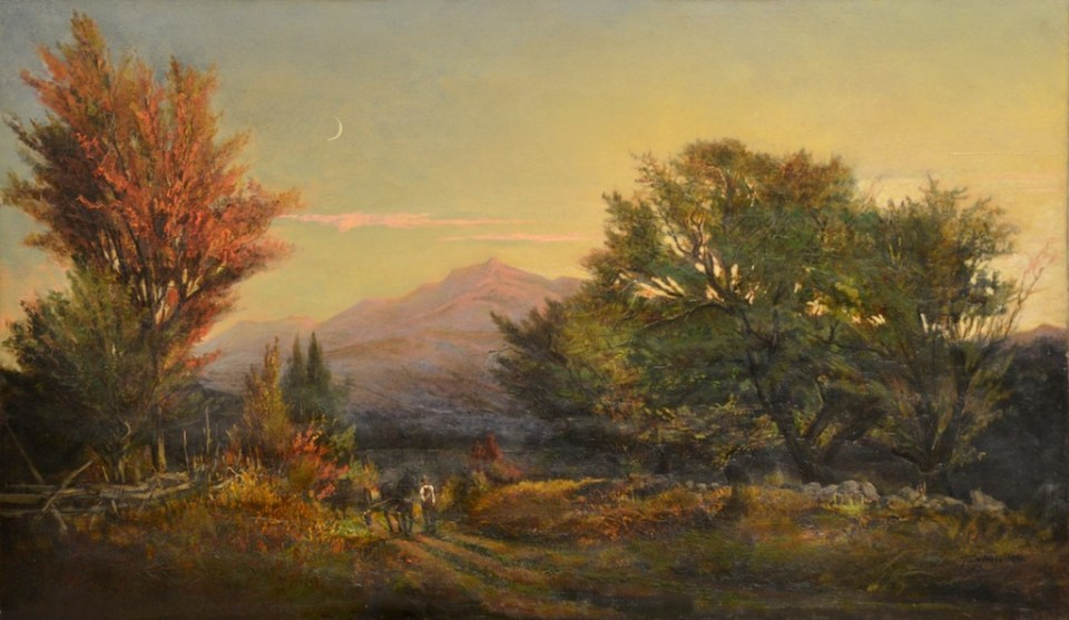 Mote [sic] Mountain from Jackson by Thaddeus Defrees