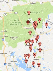 White Mountains TV Coverage Map