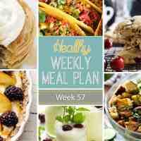 Healthy Weekly Meal Plan Week 57