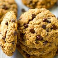 The World's Best Oatmeal Chocolate Chip Cookies