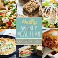 Healthy Weekly Meal Plan Week 61