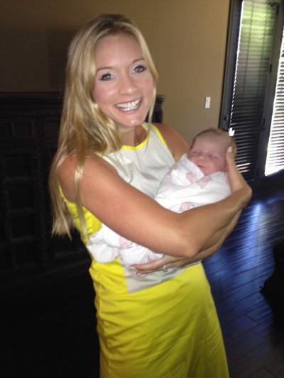Chelsea Vail, newborn care expert