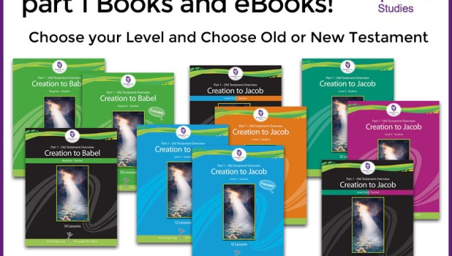 Grape Vine May Sale 40% Off Old or New Testament Part 1 Books and eBooks