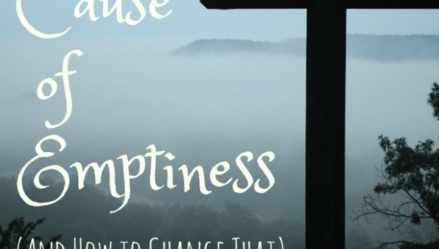 The Real Cause of Emptiness (And How To Change That)