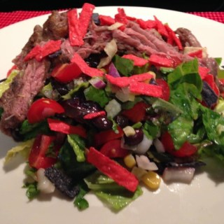 Mexican Skirt Steak Salad