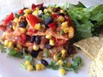 Traditional Enchiladas with Veggies