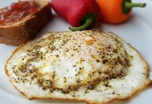 Egg with Italian Seasoning