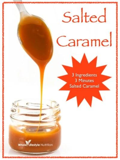 3 Ingredients 3 Minutes Organic Salted Caramel Recipe ...
