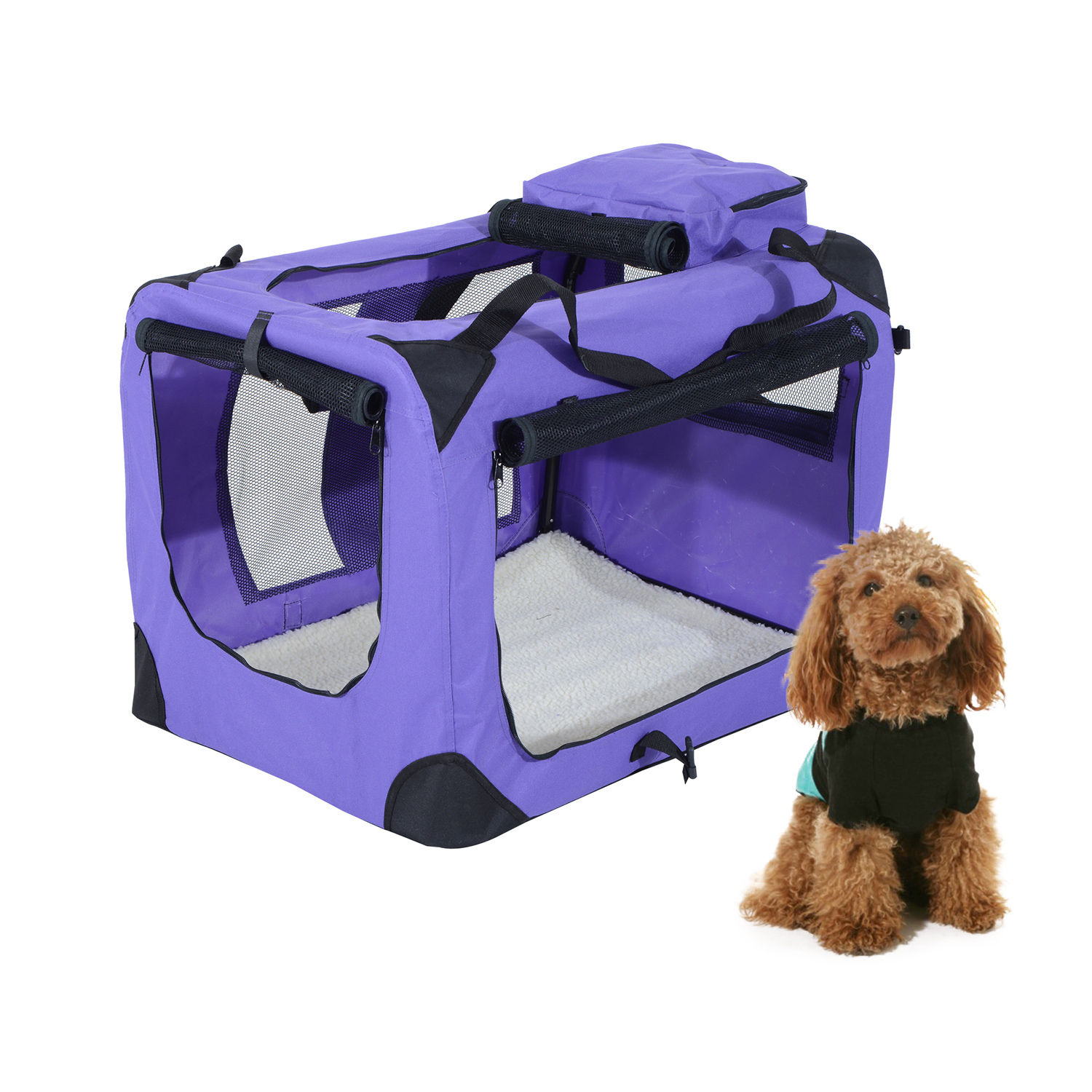 Pretty Inch Soft Sided Fing Crate Pet Carrier Purple Inch Soft Sided Fing Crate Pet Carrier Soft Sided Dog Crate Amazon Soft Sided Dog Crate Petco bark post Soft Sided Dog Crate