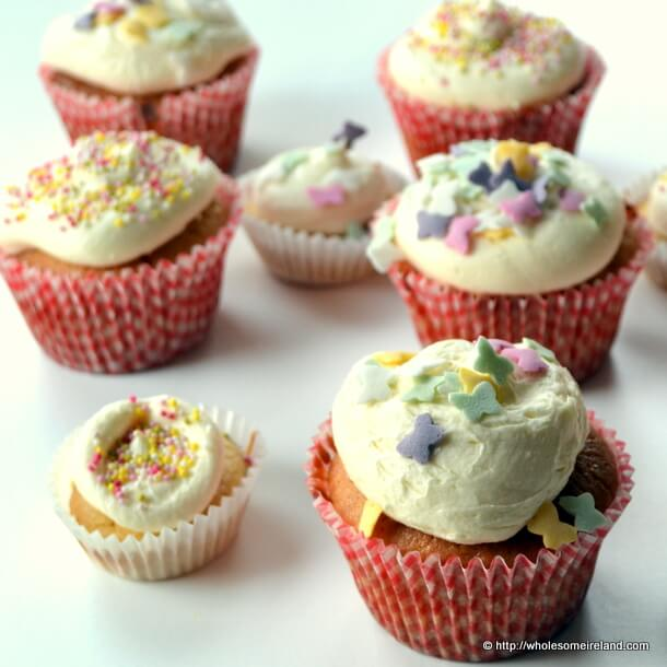 Baby Shower Cupcakes - Wholesome Ireland - Irish Food & Parenting Blog