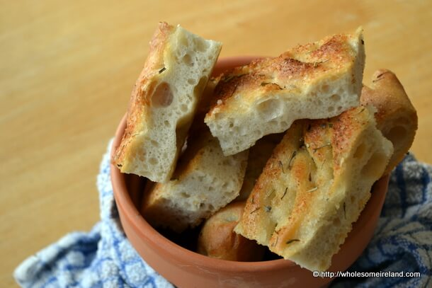 Focaccia - Wholesome Ireland - Food & Parenting Blog