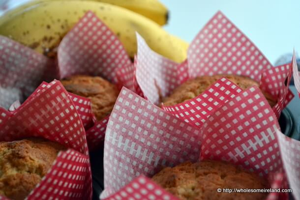 Banana Muffins - Wholesome Ireland - Food & Parenting Blog