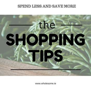 11 July 2016 – Shopping TIps