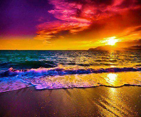 colorful sea