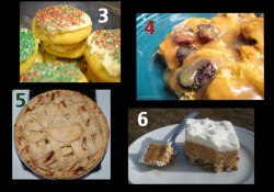 Delicious Holiday Desserts ~ Who Needs a Cape?
