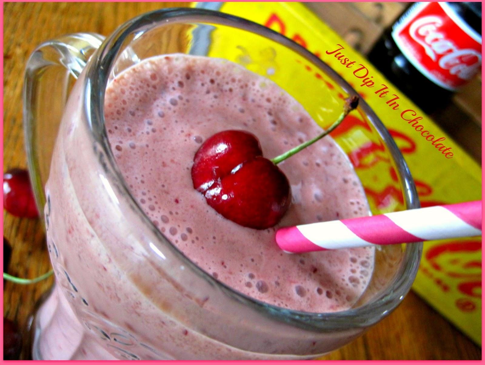 cherry cola smoothie